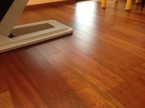 Engineered parquet flooring / jatoba / varnished
