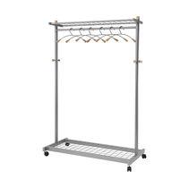 Mobile coat hanger rack