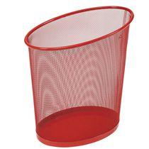 Metal waste paper basket