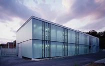 Glass solar shading / solar protection / for facades