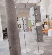 Periodicals display rack / steel
