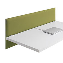 Interior fitting acoustic panel / textile / double-sided / for offices