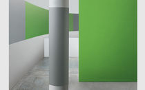 Fabric wallcovering / polyester / commercial / matte