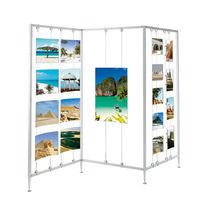 Indoor display panel / aluminum