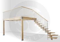 Mezzanine / solid wood