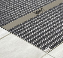 Commercial entrance mat / stainless steel / dust control