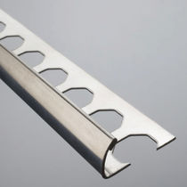 Stainless steel edge trim / for tiles / outside corner