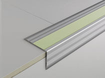 Steel stair nosing / photoluminescent