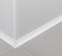 Aluminum edge trim / for tiles / inside corner