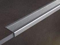 Stainless steel stair nosing / non-slip