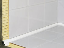 PVC edge trim / for tiles / inside corner