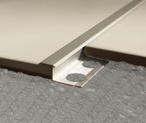 Aluminum junction profile / brass / stainless steel / outside corner