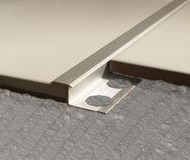 Aluminum junction profile / brass / stainless steel / outside corner