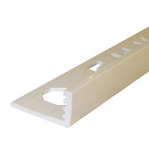 PVC edge trim / outside corner / for tiles