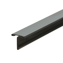 Aluminum junction profile / brass / stainless steel / for tiles