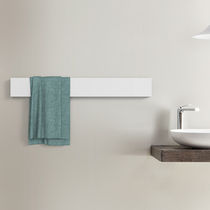 Towel rack with rods / wall-mounted / metal