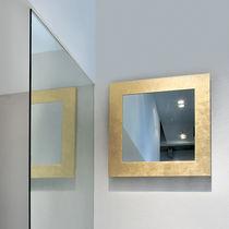 Wall-mounted mirror / warming / contemporary / rectangular