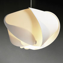 Pendant lamp / original design / plastic / incandescent