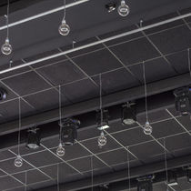 Mineral wool suspended ceiling / wooden / tile / acoustic
