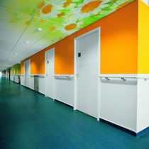 Mineral wool suspended ceiling / tile / acoustic / decorative