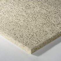 False ceiling acoustic panel / for interior walls / wood wool / Class A2