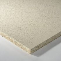 False ceiling acoustic panel / for interior walls / wood wool / mineral wool