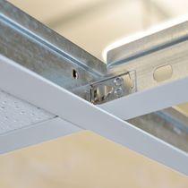 Metal ceiling suspension system