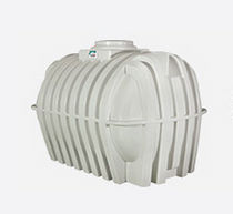 Water storage tank / in-ground / overground / polyethylene