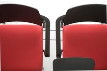 Fabric beam chairs / polypropylene / 2-seater / indoor