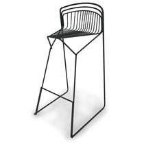 Bar stool / office / contemporary / steel
