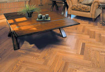Solid parquet flooring / engineered / nailed / glued