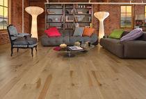 Engineered wood flooring / solid / glued / nailed