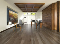 Engineered wood flooring / glued / hardwood / matte