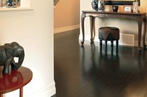 Engineered parquet flooring / solid / nailed / maple