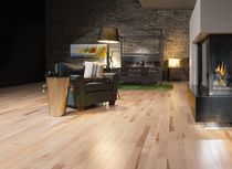 Solid parquet flooring / engineered / nailed / maple