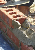 Masonry mortar / for masonry / lime and cement / cement and lime based