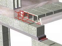 Concrete pre-lintel / prestressed