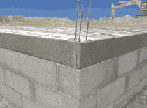 Concrete slipblock