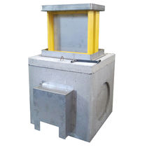 Electrical distribution bollard / steel / retractable