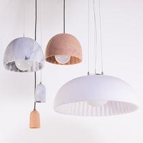 Pendant lamp / contemporary / resin / LED