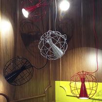 Pendant lamp / contemporary / aluminum / steel