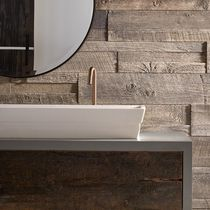 Wooden wall cladding / interior / textured / decorative