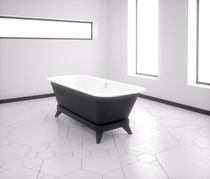 Bathtub with legs / Solid Surface