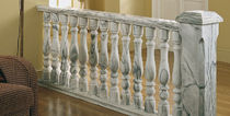 Marble balustrade / bar / for patios