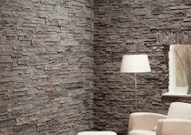 Concrete wall cladding panel / exterior / interior / stone look