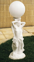 Floor-standing lamp / contemporary / stone / outdoor