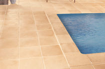Outdoor tile / poolside / for floors / concrete