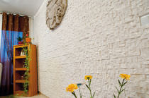 Concrete wall cladding panel / exterior / interior / stone look
