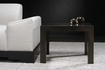 Coffee table / contemporary / hardwood