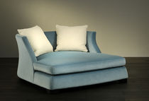 Contemporary sofa / fabric / 2-seater